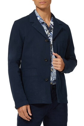 Convertible-Collar Jacket