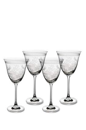 Botanic Garden Glass Set of 4