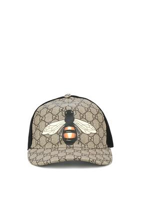Bee Print GG Supreme Baseball Hat