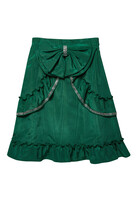 Ruffle and Bow Skirt