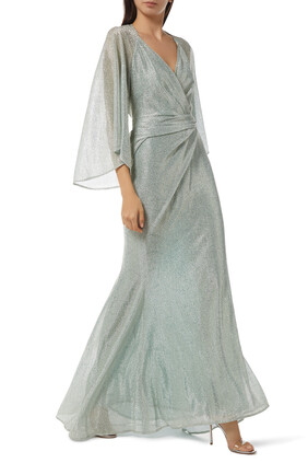 Conley Long Sleeve Gown