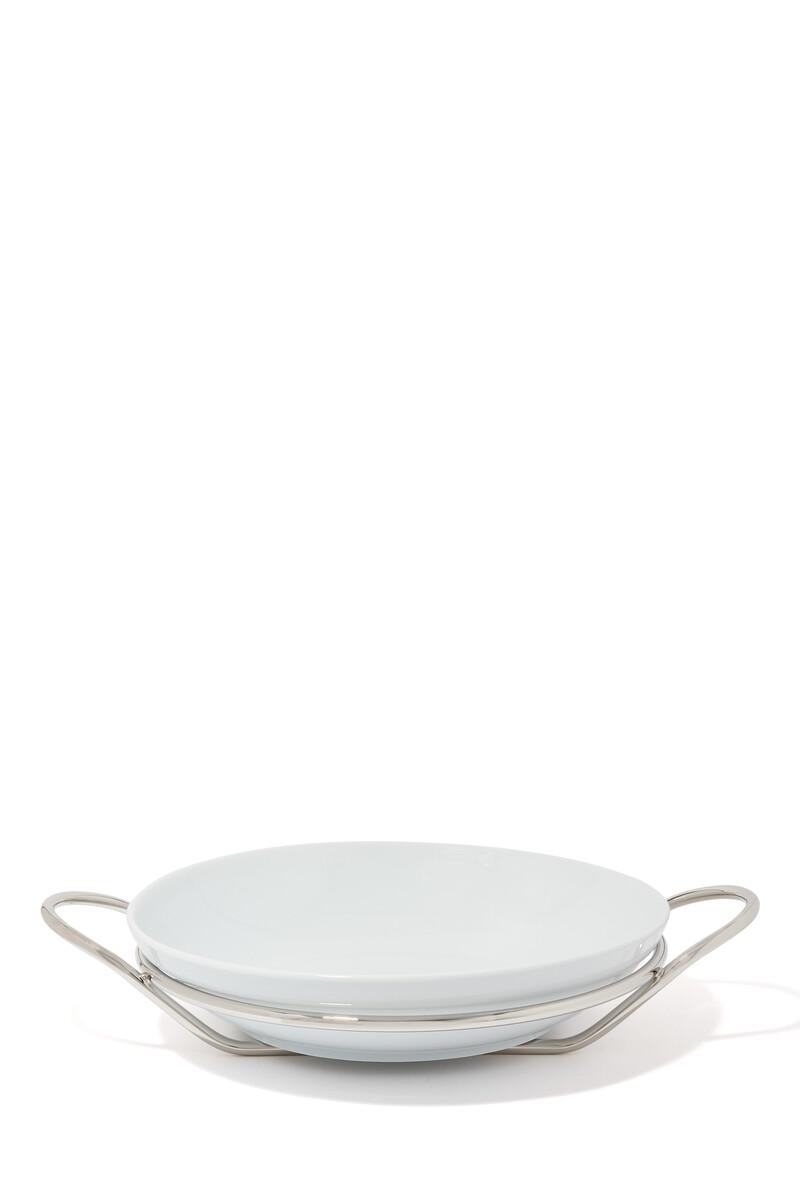 Round Binario Spaghetti Dish image number 1