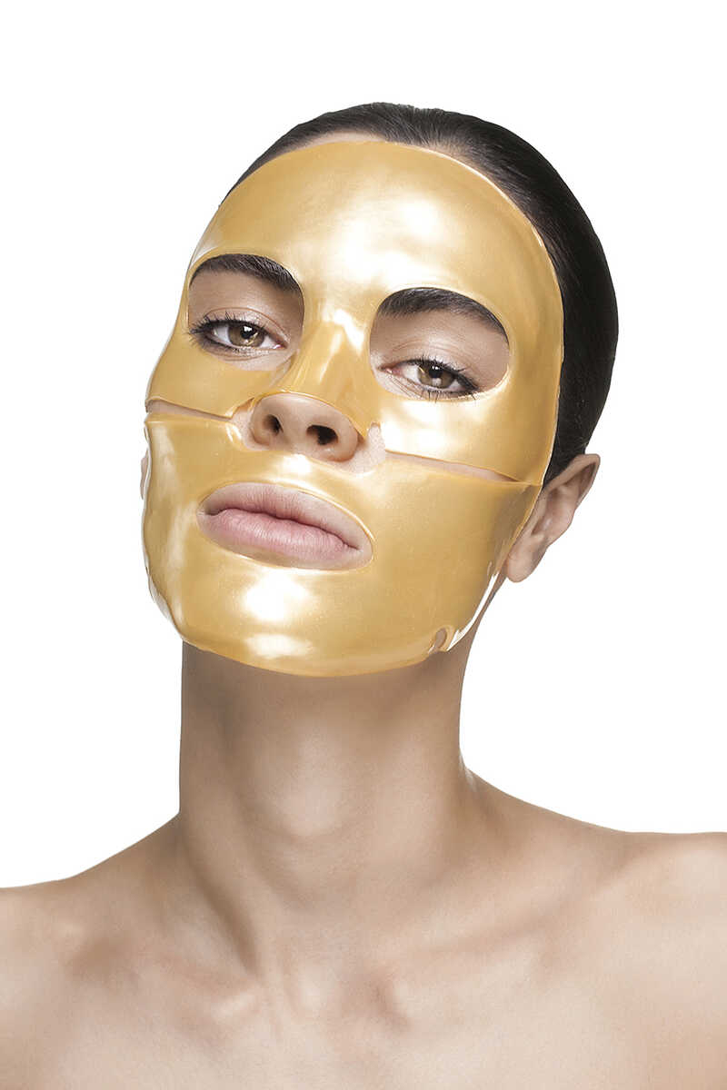 Nanogold Repair Collagen Face Mask (4 Treatments) image number 3
