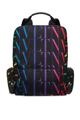 Valentino Garavani VLTN Times Nylon Backpack