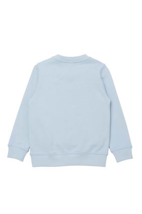 Tiger Print Sweatshirt