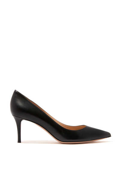 Nappa Point Toe Pumps