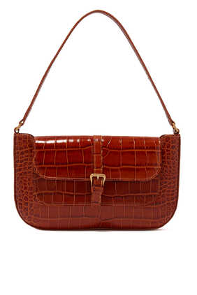 Miranda Croc Embossed LeatherBag