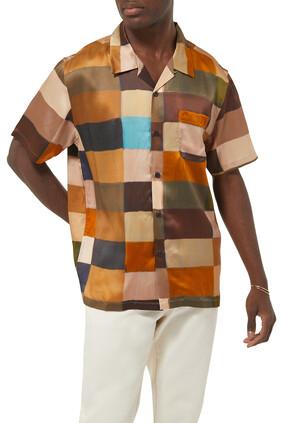 Painted Check Shirt