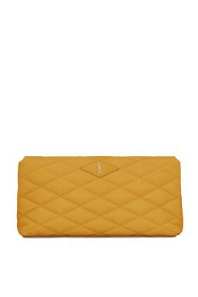 Sade Puffer Envelope Clutch