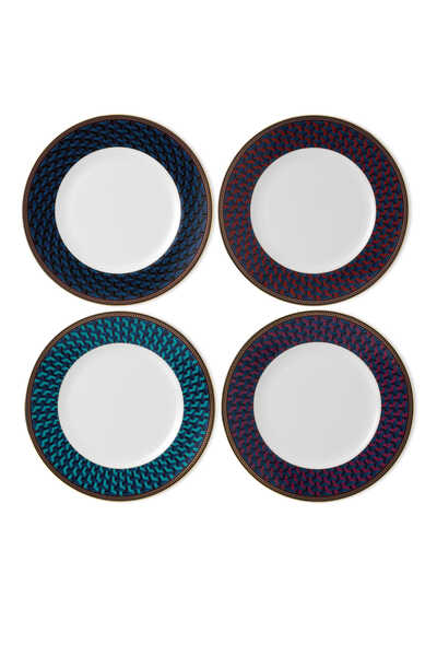Byzance Accent Salad Plate 20 cm Set Of 4