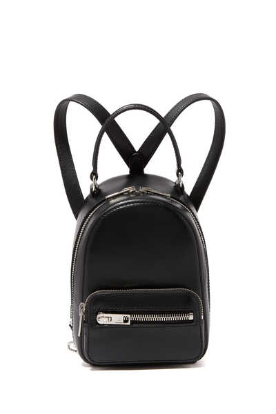 Mini Attica Leather Backpack