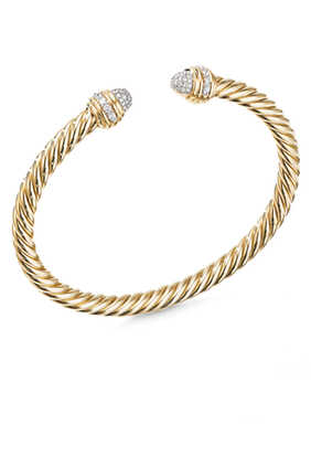 Cable Diamond Bracelet