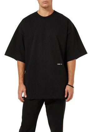 Collage Cotton Oversized T-Shirt
