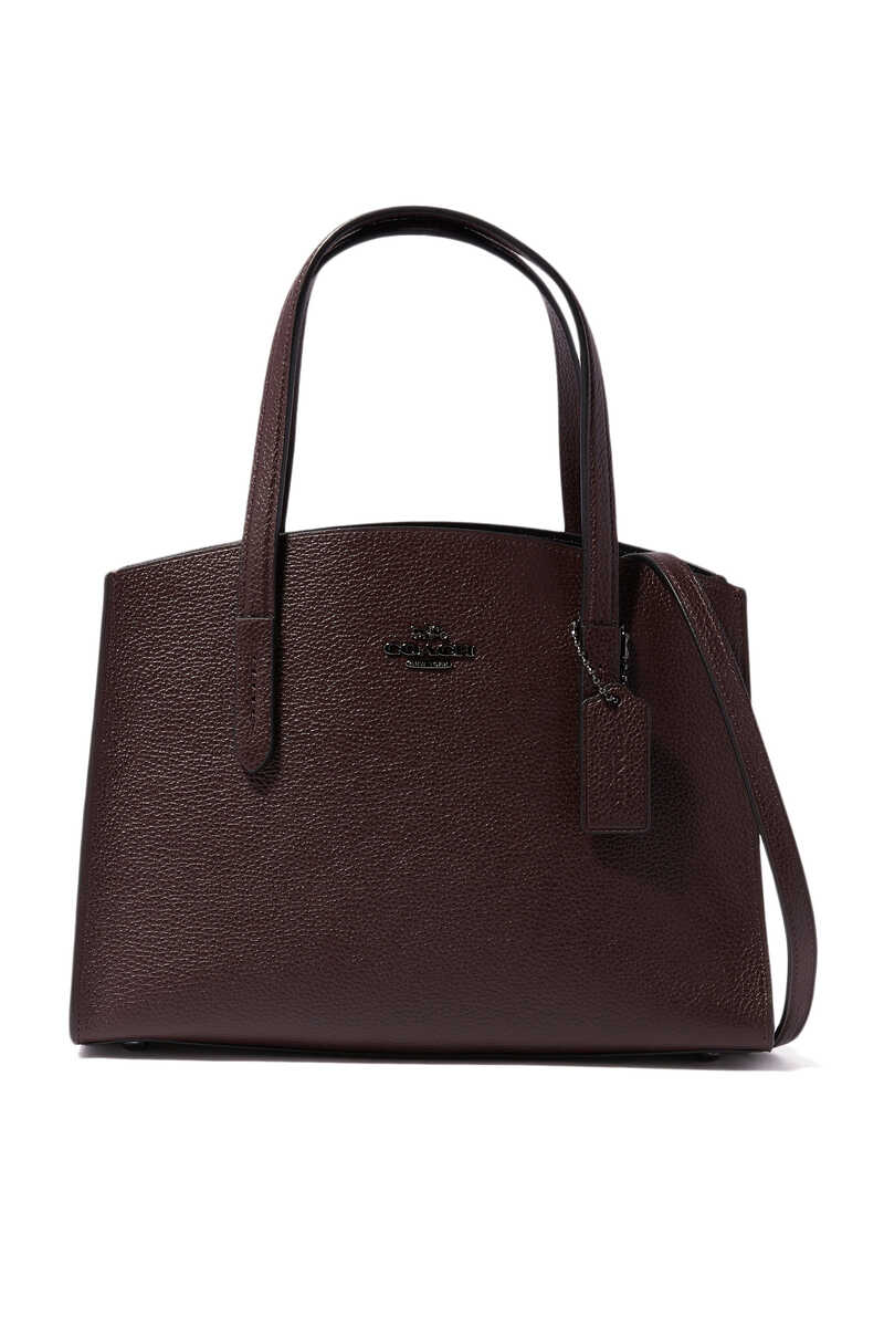 Oxblood Charlie 28 Tote Bag image thumbnail number 1
