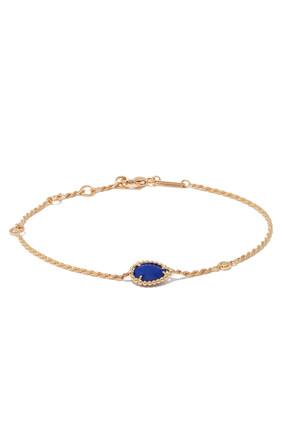 Serpent Bohème Diamond And Lapis Lazuli XS Motif Bracelet