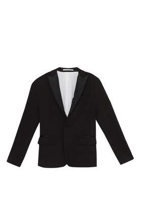 Lapel Collar Blazer Jacket