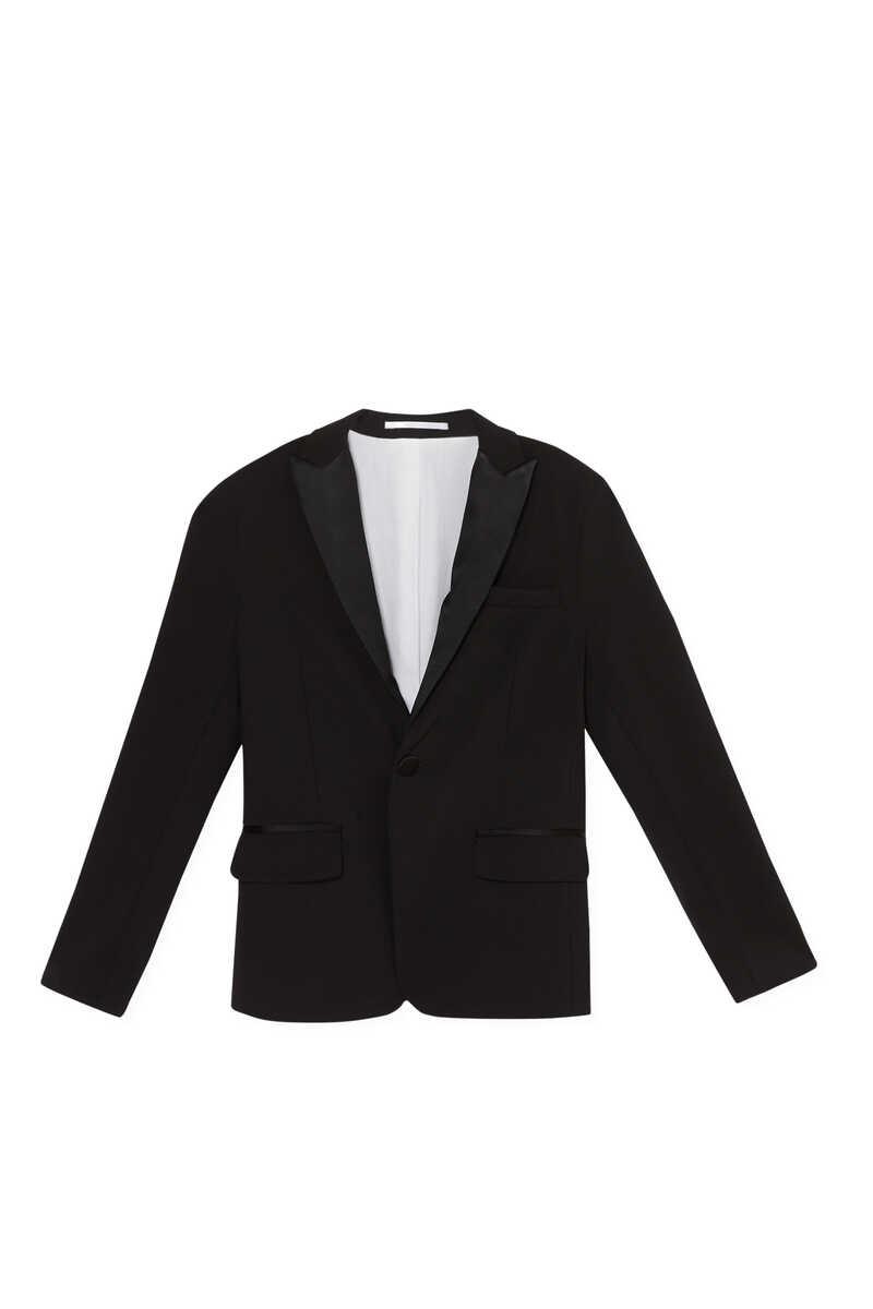 Lapel Collar Blazer Jacket image number 1