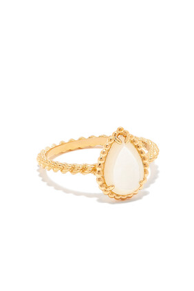 Serpent Bohème Mother of Pearl Ring