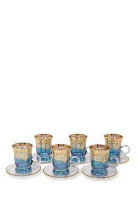 Tea Cup, Set of Six