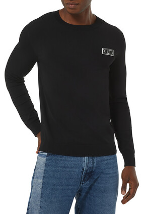 VLTN Tag Crewneck Sweatshirt