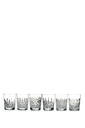 Waterford Lismore Connoisseur Heritage Double Old Fashioned Tumblers, Set of Six