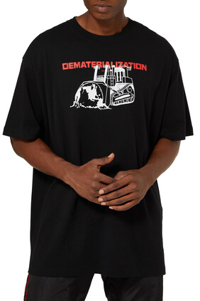 Dematerialization  Logo T-Shirt