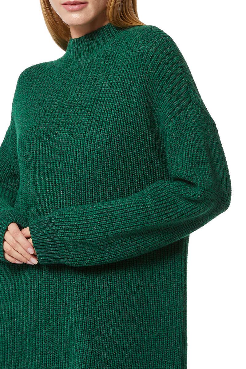 Sarah Two-Way Boxy Turtleneck Jumper image number 4
