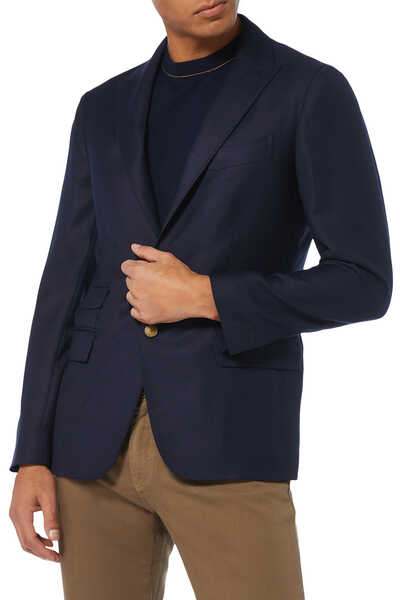 Peaked Lapel Jacket