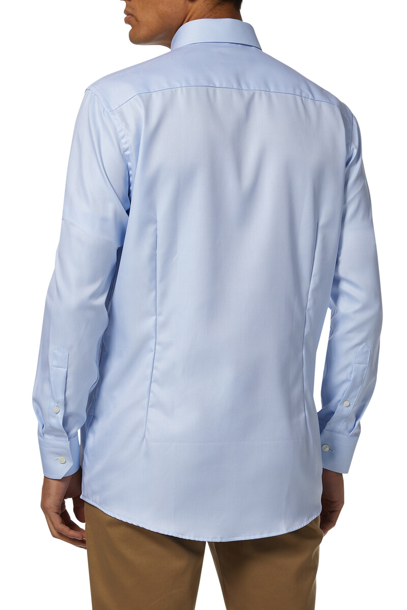 Slim Fit Signature Twill Shirt image number 3