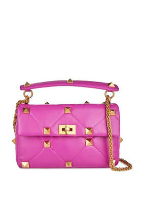 Valentino Garavani Roman Stud Leather Bag