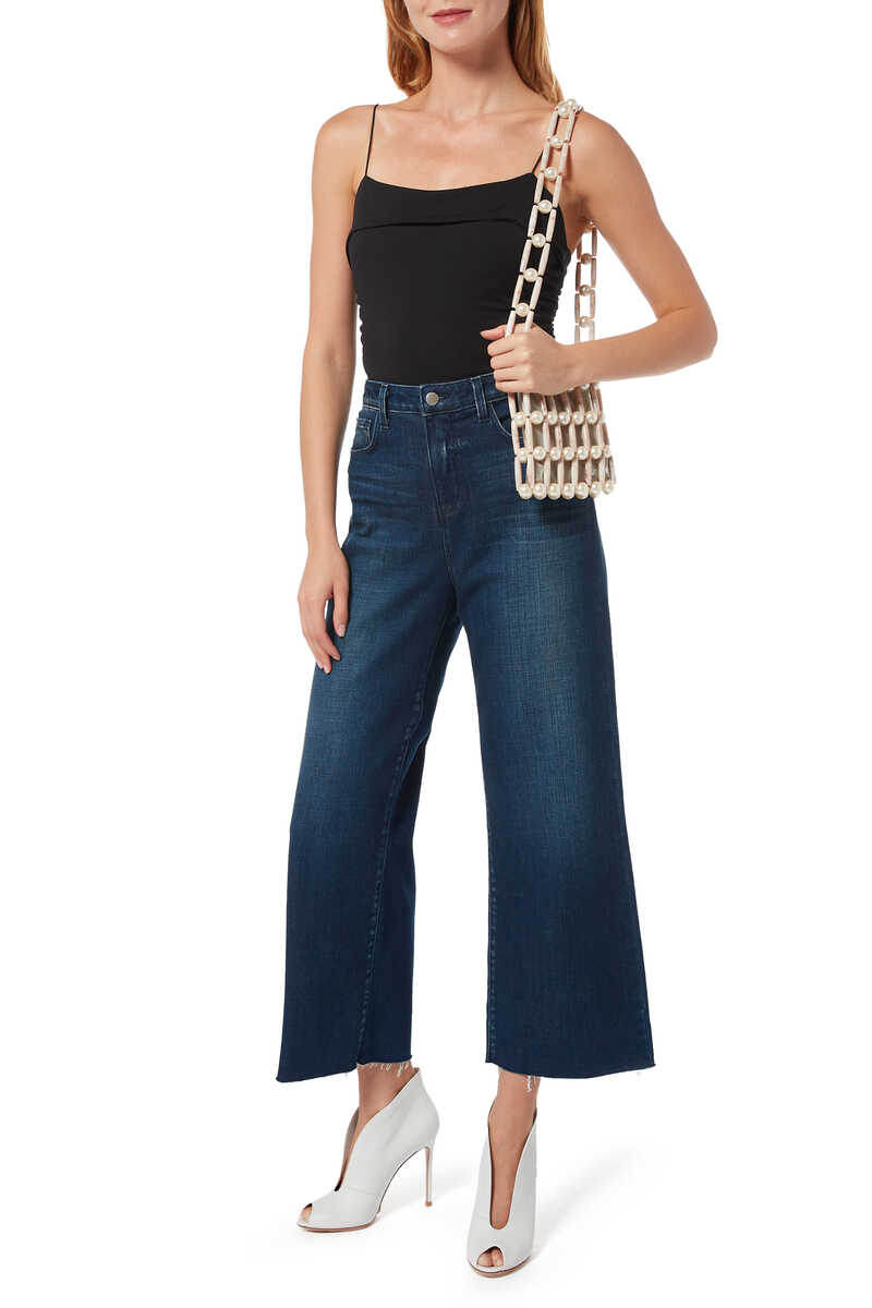 Danica Wide Leg Denim Jeans image number 2