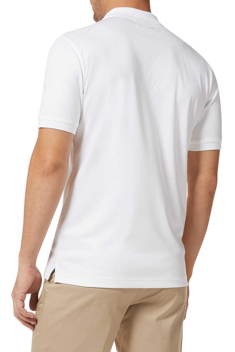 Luxury-Touch Cotton Polo Shirt image number 3