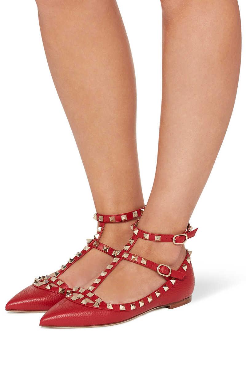 Valentino Garavani Rockstud Leather Sandals image number 2