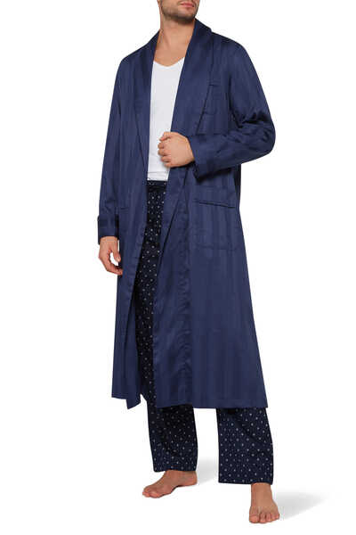 Lingfield Striped Robe