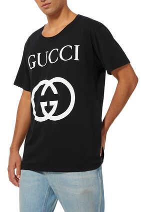Interlocking G Logo Cotton T-Shirt