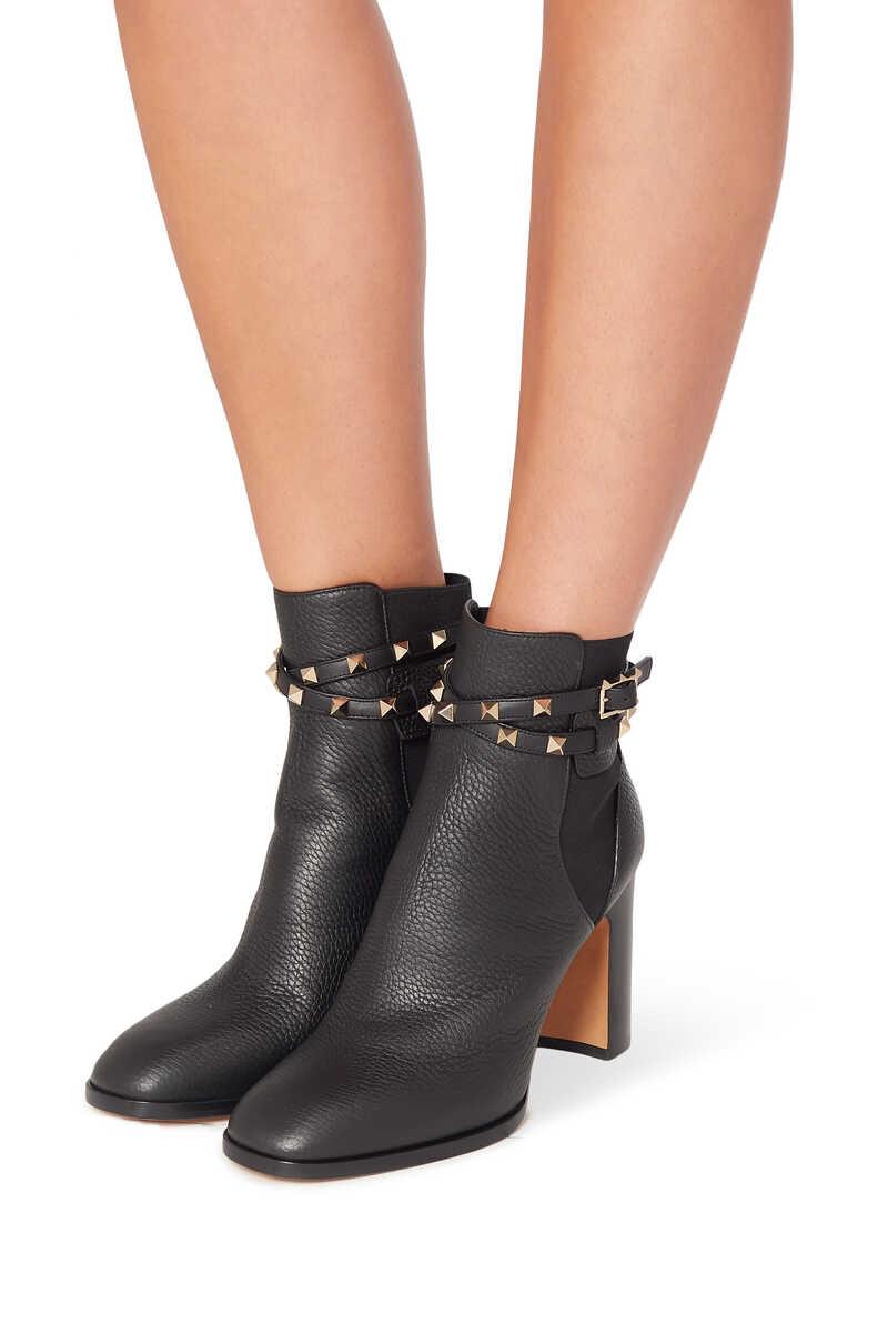 Valentino Garavani Rockstud Leather Boots image number 2