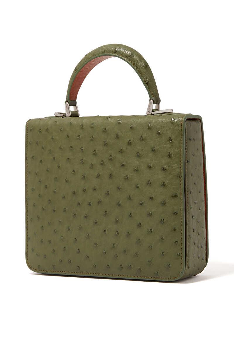 Square F Top Handle Bag image number 2