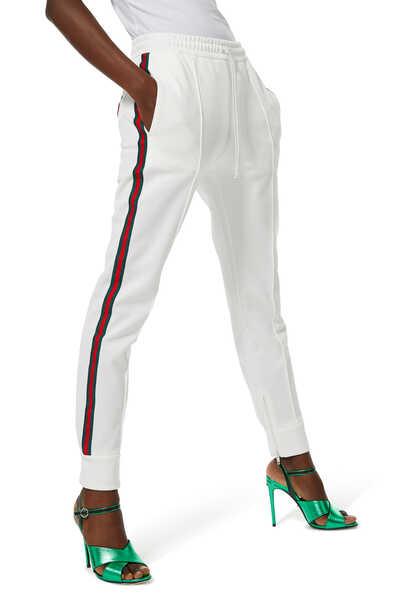 Piquet Jersey Trousers