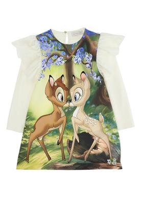 Bambi Print Dress