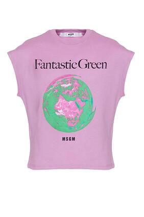 Earth Print T-Shirt