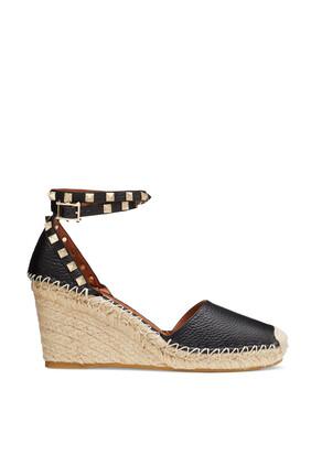 Rock Stud Wedge Sandals