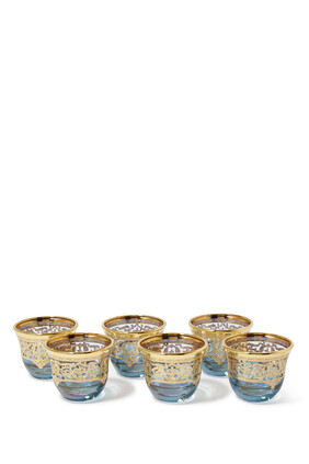 Mocca Cup, Set of Six