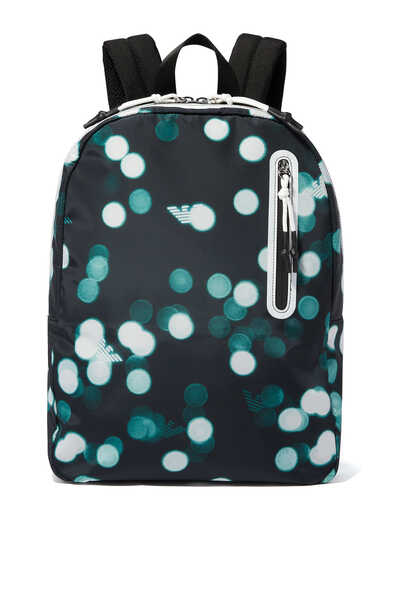 Digital Dot Print Backpack