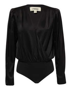 Brenda Puff Sleeves Bodysuit