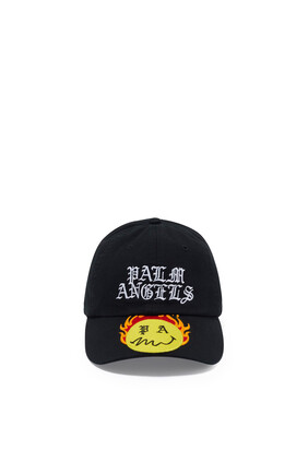 Burning Head Baseball Cap