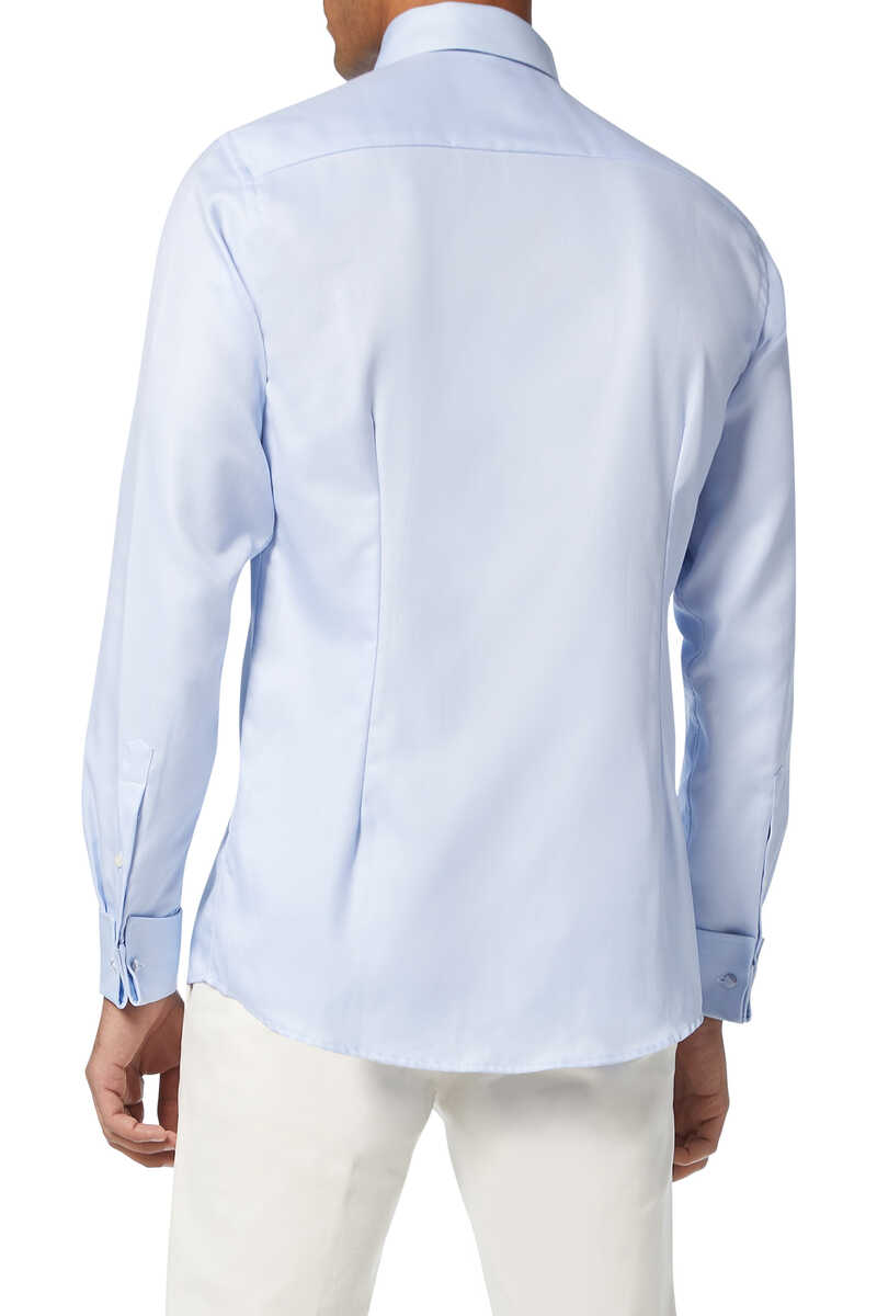 Contemporary Fit Twill Shirt image number 3