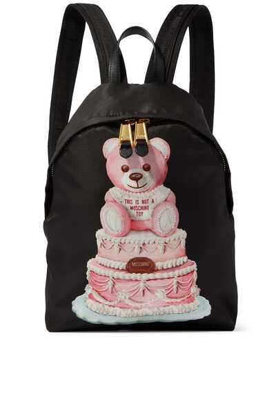 Cake Teddy Bear Backpack