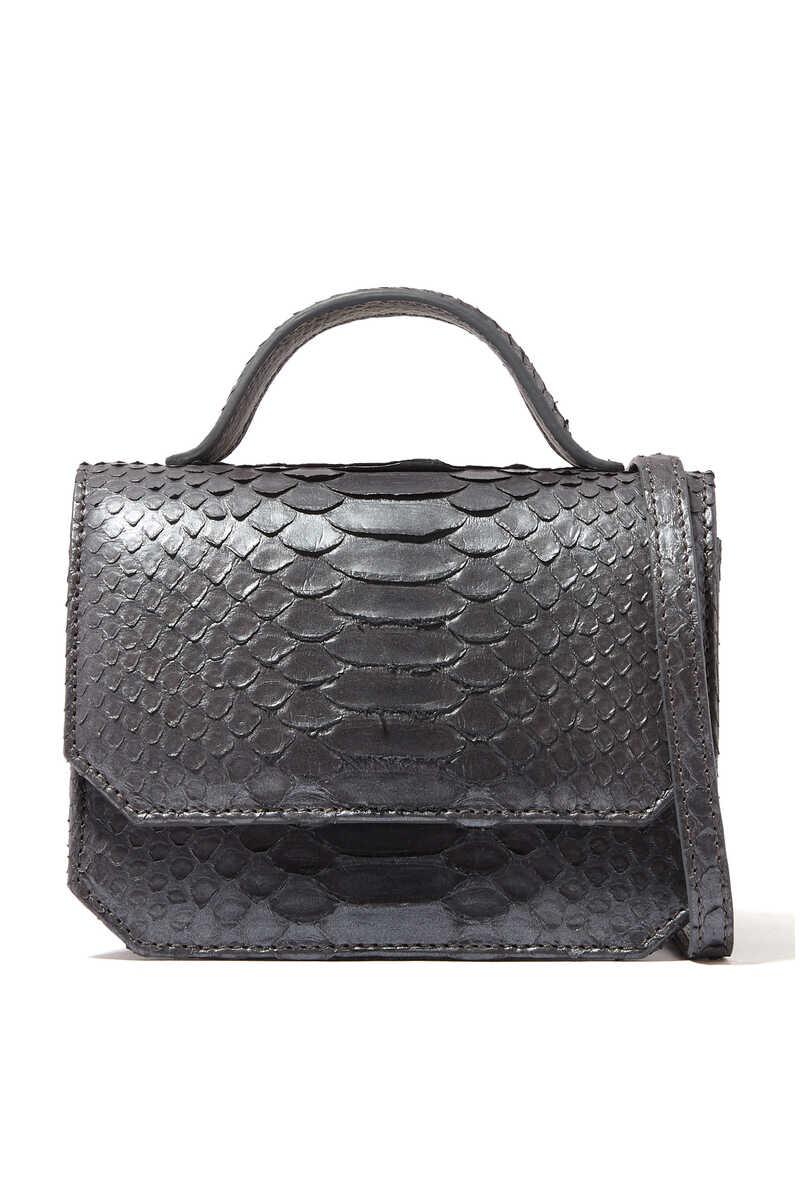 Buy Dark Blue Amanda Navai Booboo Micro Crossbody Bag