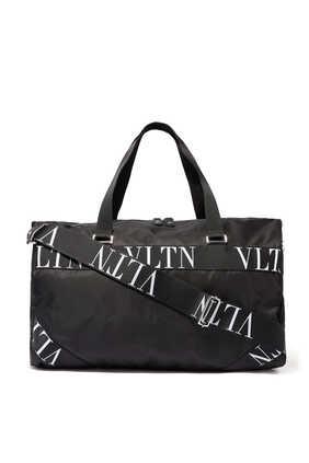 VLTN Print Duffel Bag
