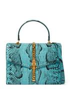 Sylvie 1969 Python Small Top Handle Bag